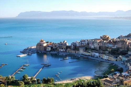 """Castellammare del Golfo - """"il mare al mattino a castellammare"""""""