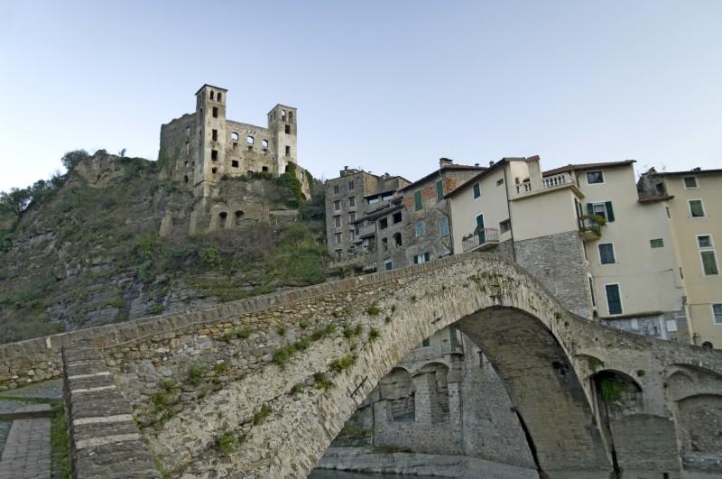 ''Il castello di Dolceacqua.'' - Dolceacqua