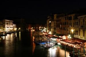 Venezia - Il Canal Grande in notturna