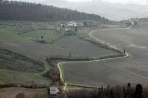 Tracce nella campagna di Pelago