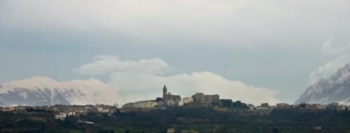 Tocco da Casauria - Tra le montagne e le nuvole