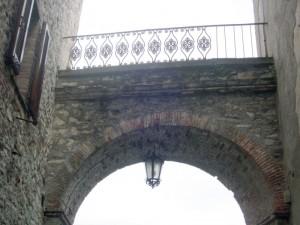 la porta del castello…