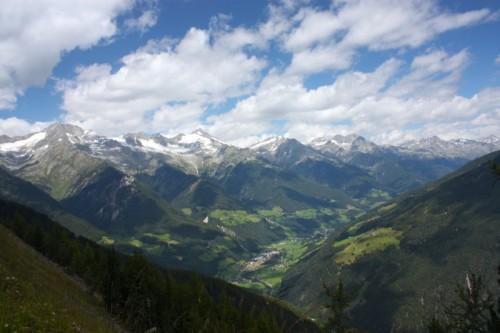 Valle Aurina - Panorama di San Giovanni in Valle Aurina