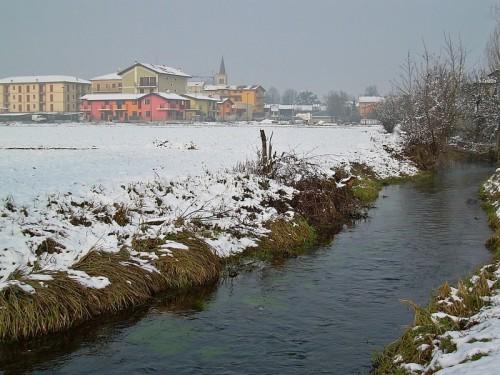 Agnadello - Nevicata inattesa