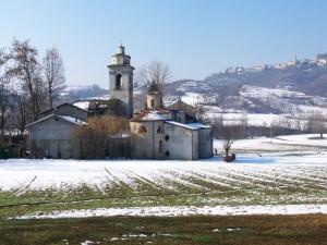 Parodi Ligure e la chiesa di S. Remigio.