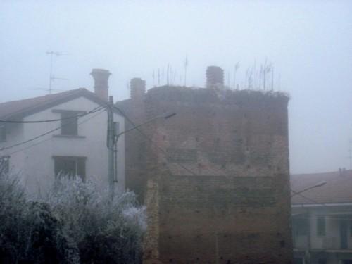 Carisio - Mura nella nebbia