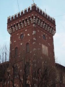 La torre del Municipio di Rho