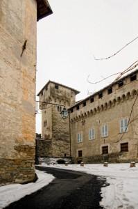 La strada che porta al Castello