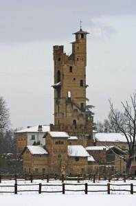 Il torrione della cascina Riccarda