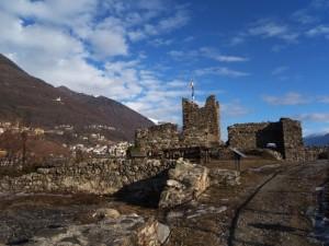 E' sereno a Castel Grumello