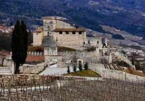 Castel Noarna invernale