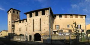 Panoramica del castello di Bellusco