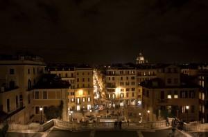 Roma vista da Trinità dei Monti