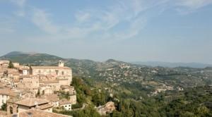 Panorama da Perugia - porta sole!
