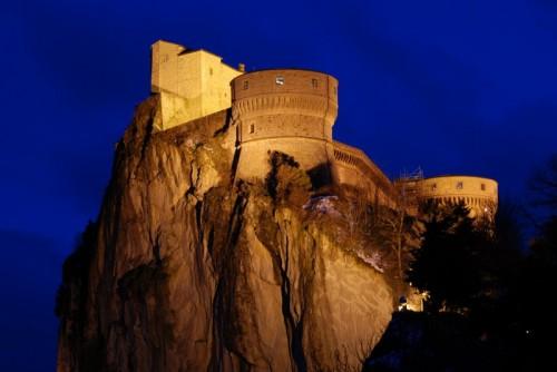 San Leo - Meraviglia notturna.............