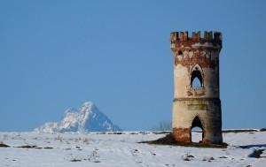 La torre ed il Monviso
