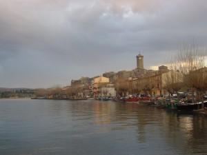 Marta…e distese le sue barche