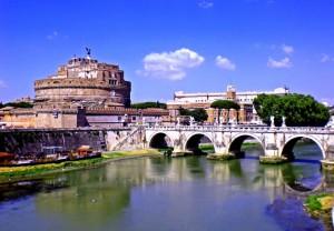 Tevere-Castel Sant Angelo