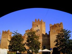 Il castello in pieno centro