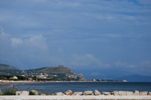 anche a settembre una nuotata nel mare di Terracina