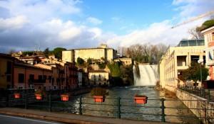 Il Castello e la cascata…