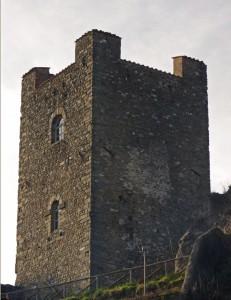 La torre del castello di Ghivizzano
