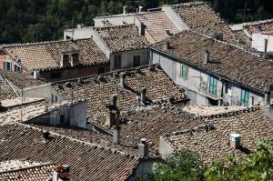 tetti in paese