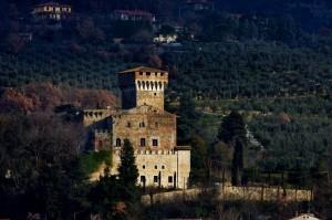 """Il castello di Castelnuovo ovvero…….""""la sentinella dell'arno"""""""