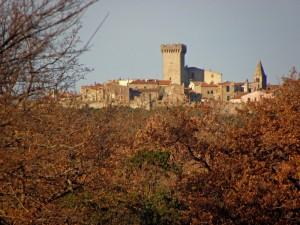 Il castello di Magliano in Toscana