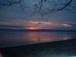 Il lago viola