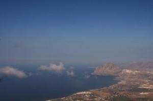 San Vito Lo Capo. Panoramica da Erice