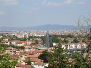 Vista dal Castello di Rivoli