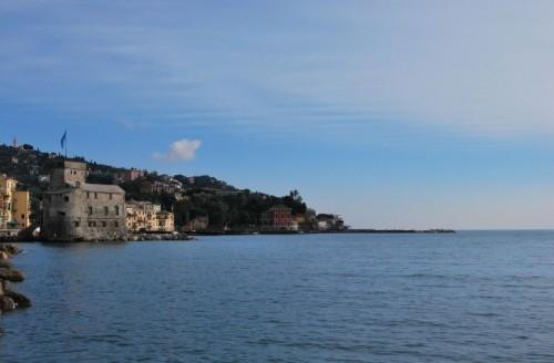 Rapallo - Panorama con Castello