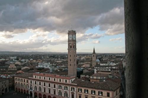 Forlì - Tetti della città dal campanile