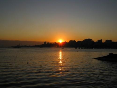 Taranto - L'alba sulla città