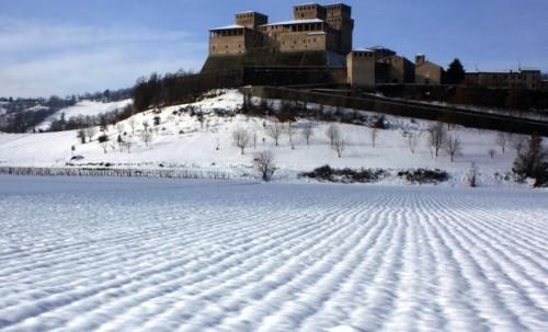Langhirano - Assediato dalla neve