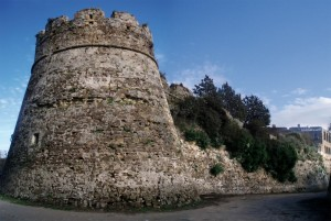 Attorno alle mura del castello di Agropoli