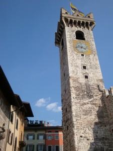 Trento, torre del Palazzo Pretorio