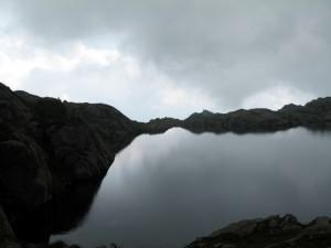 lago nero, il tempo stà cambiando