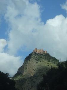 Il castello sul monte