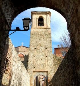 Porta ingresso sud Castelleone