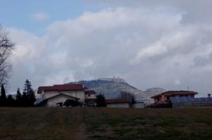 nuvoloni sull'abbazia