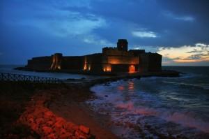 tramonto in solitudine de le castella