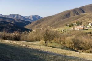 Una frazione di Mongiardino Ligure.