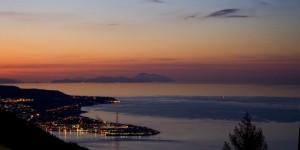 tramonto a ganzirri