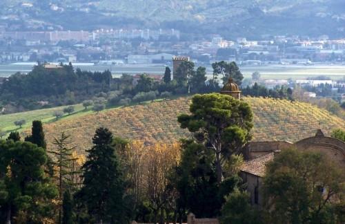 Spoltore - La torre Sterlich sulla sua collina