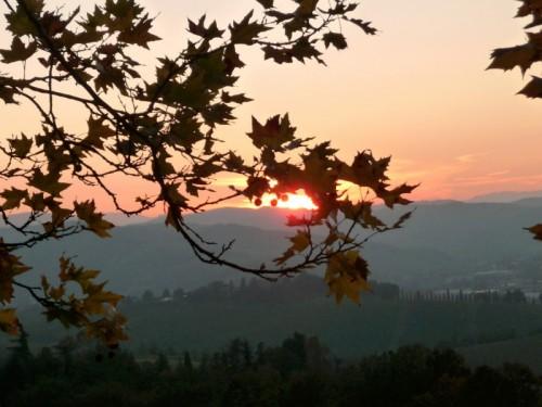 Vezzano sul Crostolo - tramonto sulle colline di Vezzano sul Crostolo