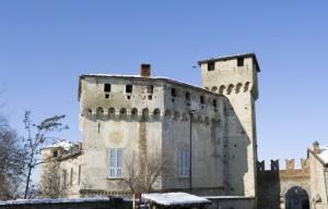Il castello di Lerma.