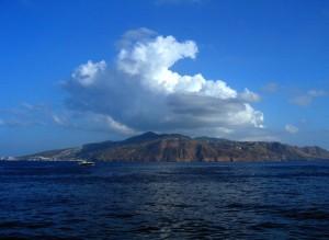 Nubi su Lipari