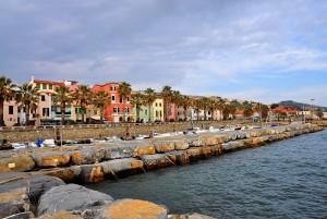 Colori della Liguria sul lungomare